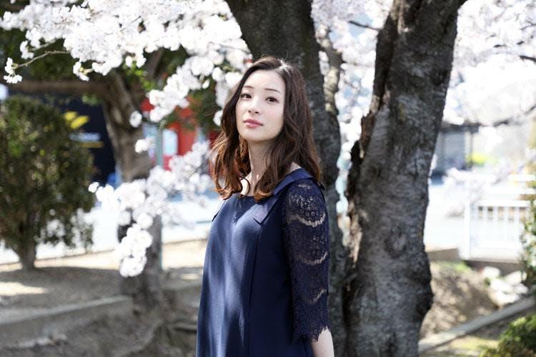 足立 梨花 桜